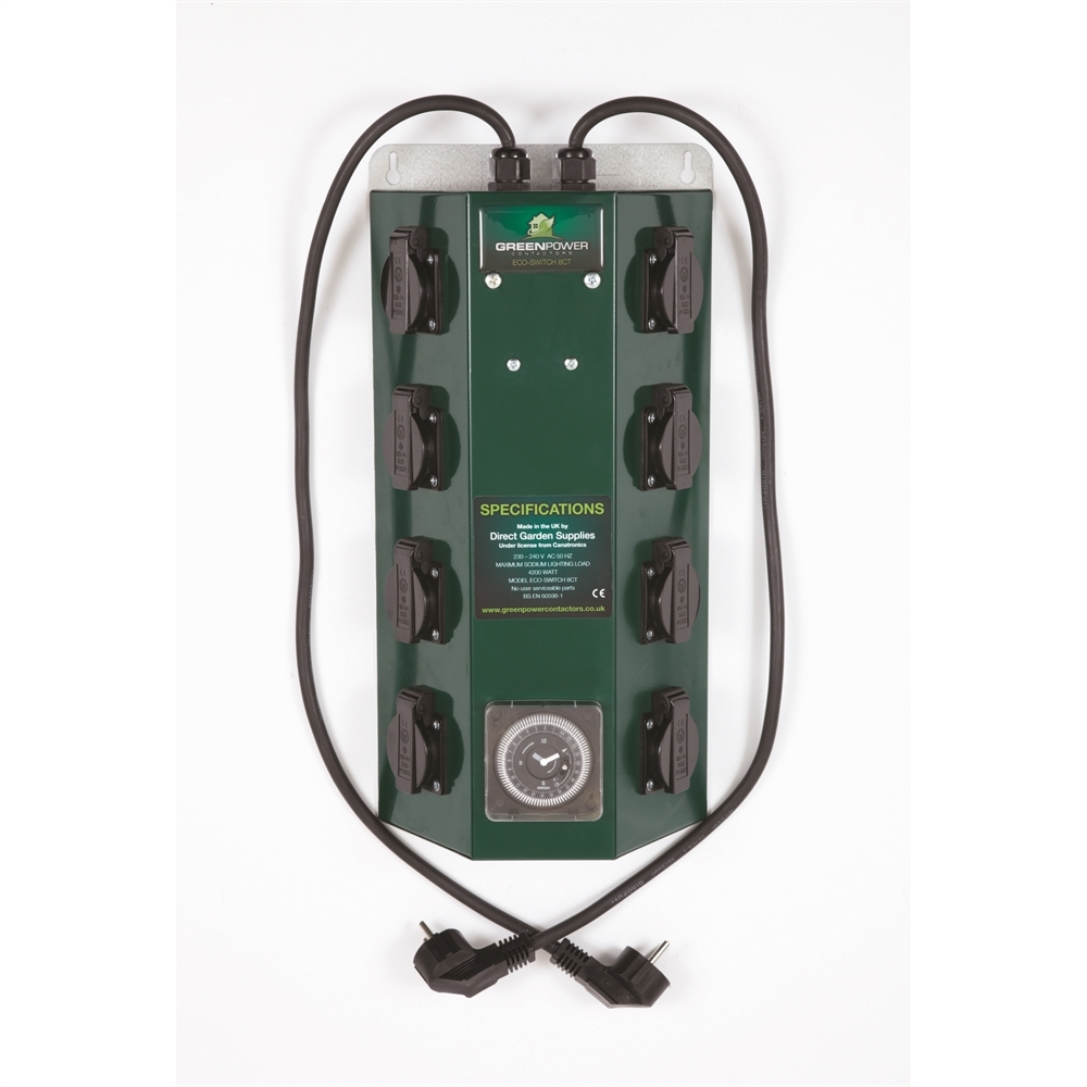 Picture of Greenpower 8 Way Professional Contactor and Timer