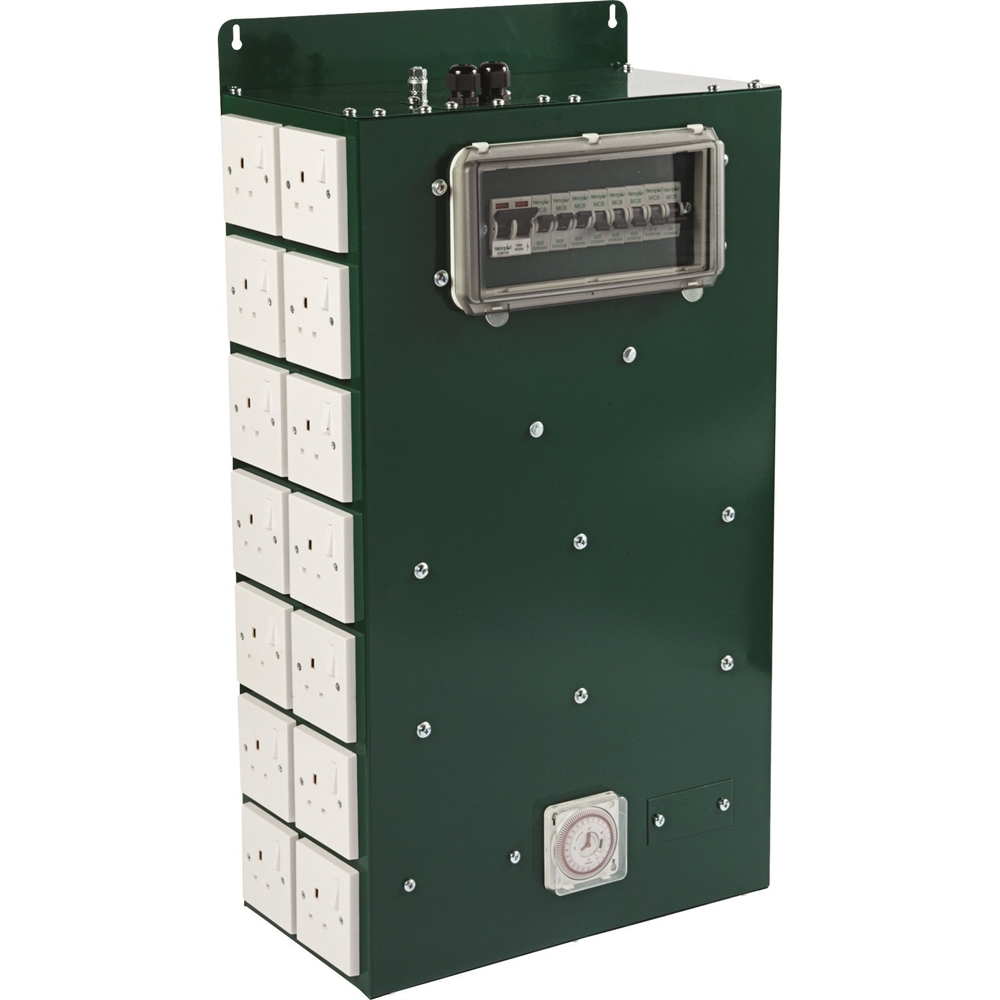 Picture of 28 Way Commercial Contactor and Timer (600w)