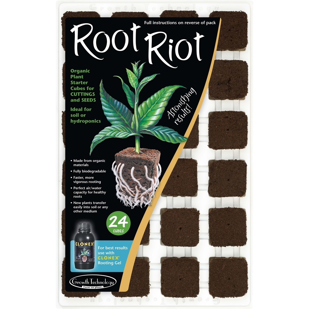 Picture of Fleximix Root Riot Organic Starter Cubes