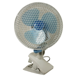 """Picture of Oscillating Clip Fan 7"""" (180mm)"""