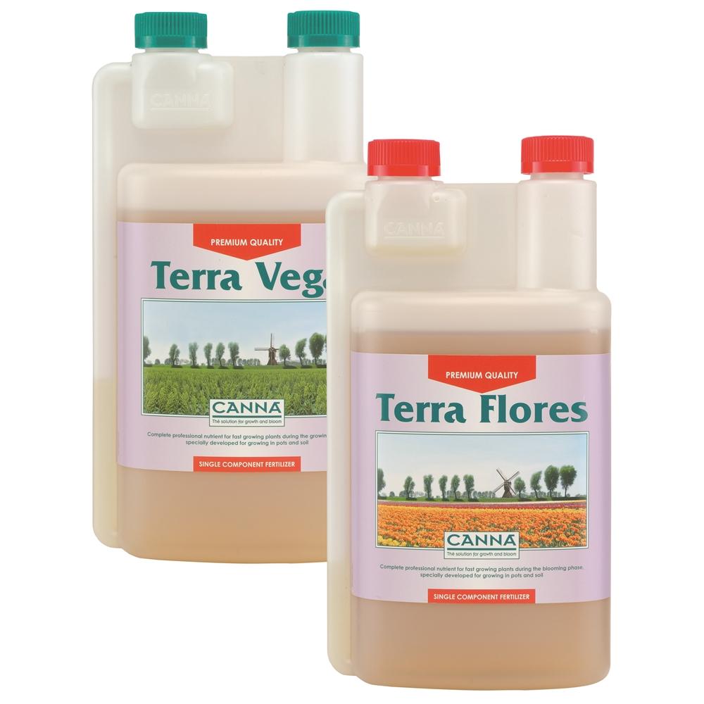 Picture of Canna Terra Vega & Flores Nutrients