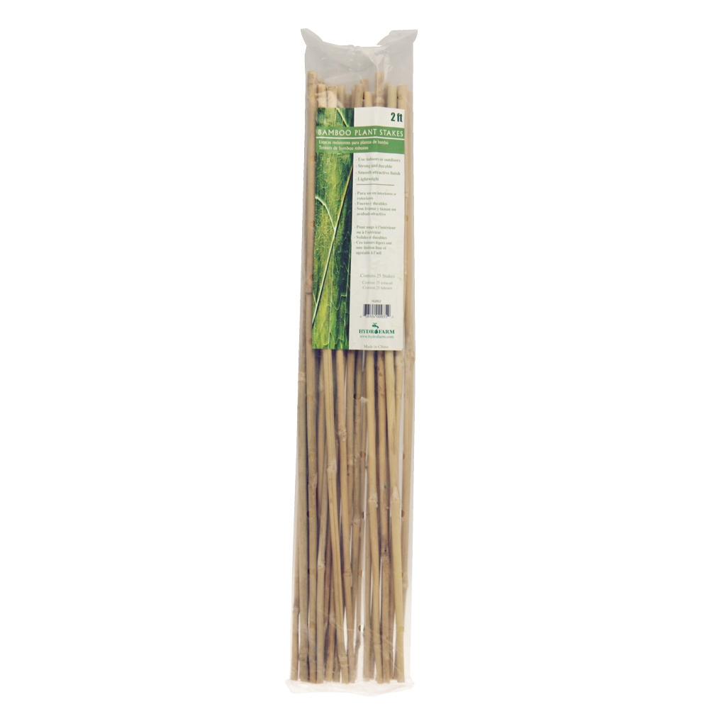 """Picture of 4"""" Bamboo Canes 120cm (25 Pack)"""