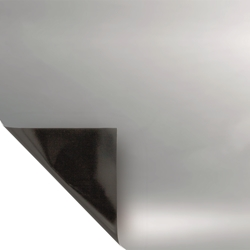 Picture of Mylar Silver Black Sheeting