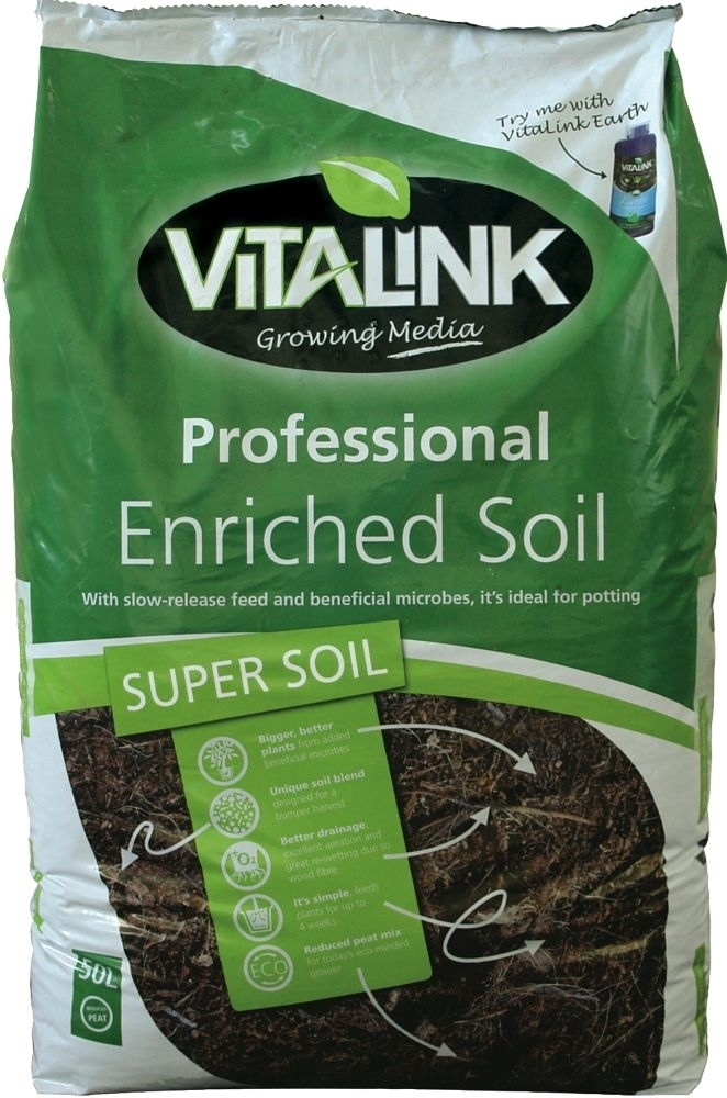 Picture of Vitalink Professional enriched Soil 50L
