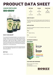 Picture of BioBizz Nutrients (Bio Grow & Bio Bloom)