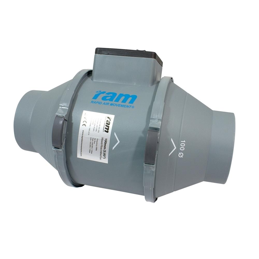 Picture of RAM Mixed Flow Inline Fan