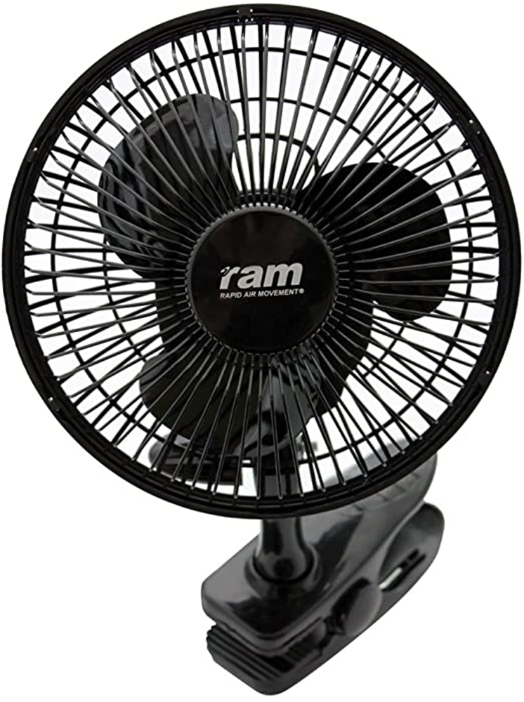 "Picture of RAM Oscillating Clip Fan 7"" (180mm) 20w"