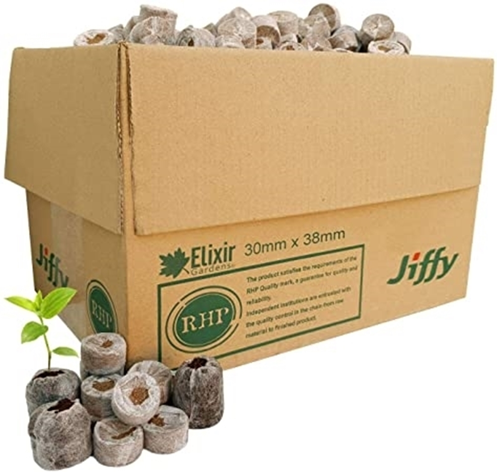 Picture of Jiffy Plugs 30mm Box of 1155 Plugs