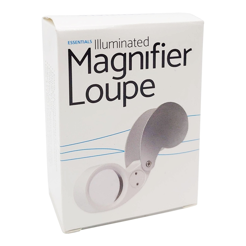 Picture of Essentials Illuminated Magnifier Loupe (60x-100x)
