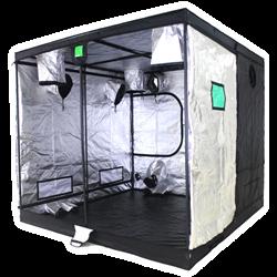 Picture of Budbox Pro Titan 1 Grow Tent (Silver) 200cmx200cmx200cm