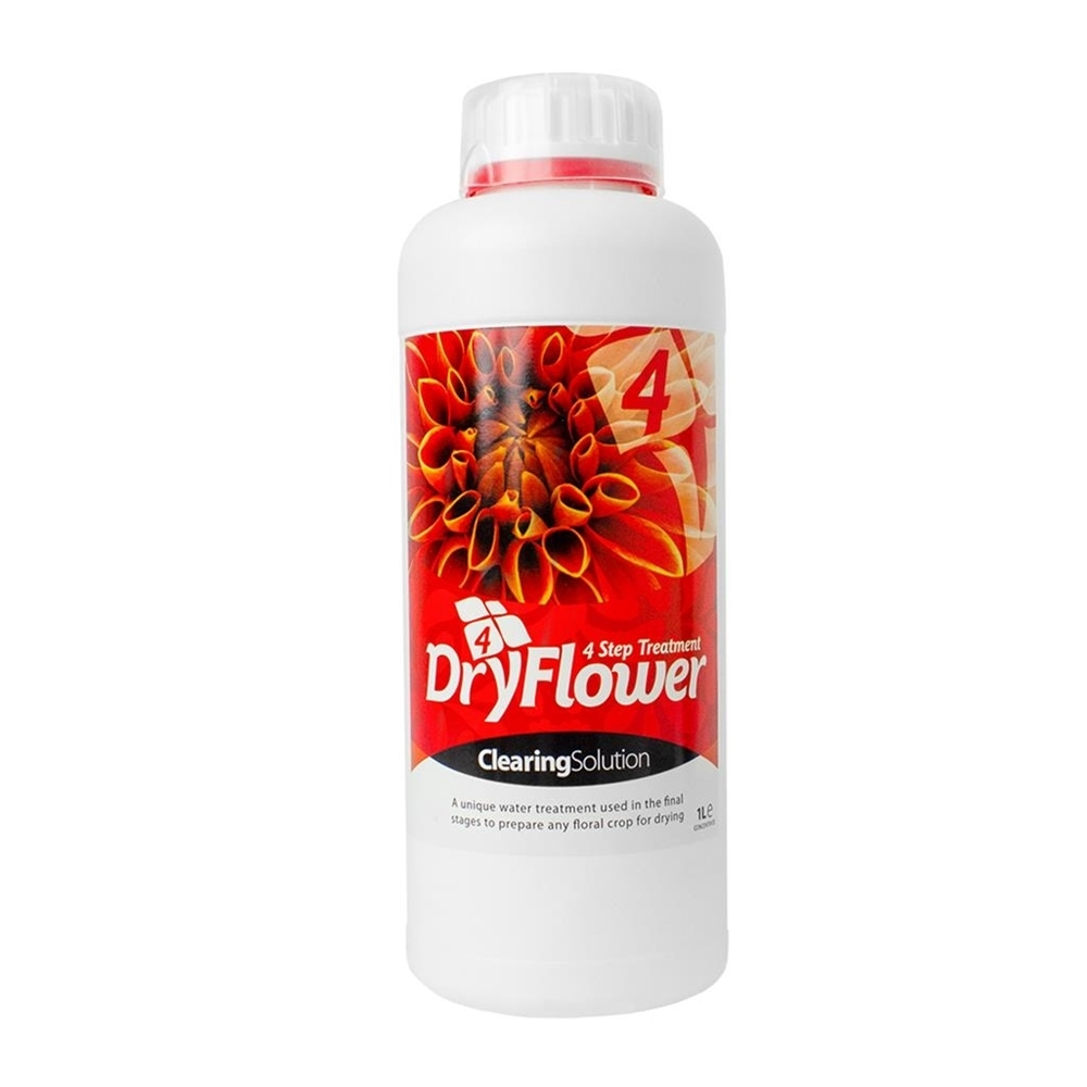 Picture of Dry Flower 4 Clearing Solution (Flush) 1L